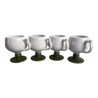 Vintage Puerto Rican Caribe Mugs - Set of 4