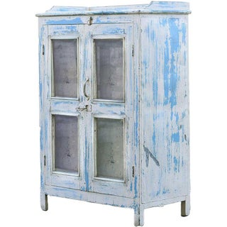Blue Skies Vintage Cabinet