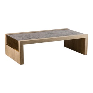 Paul Marra Rustic Modern Waterfall Table