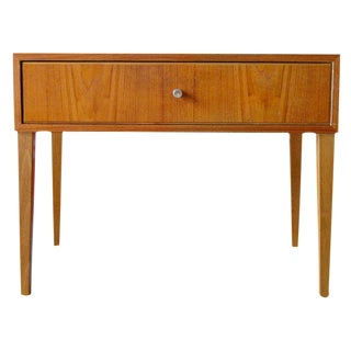 Swedish Mid-Century Teak End Table
