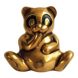 Rosenthal Netter Brass Panda Bear