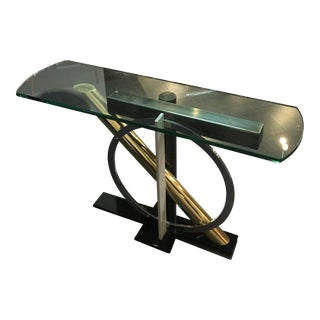 Mod Chrome Cocktail Table