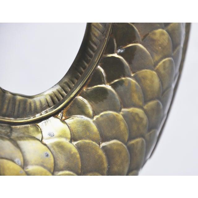 Chapman Brass Koi Fish Statue - Image 7 of 7