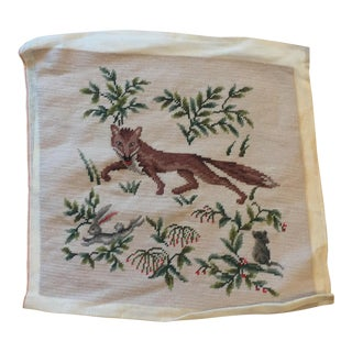 Fox Needlepoint Tapestry