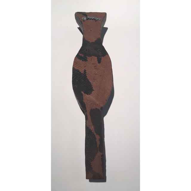 Image of Wooden Carved Decorative Man