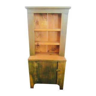 Artisan Small Green Wooden Cabinet