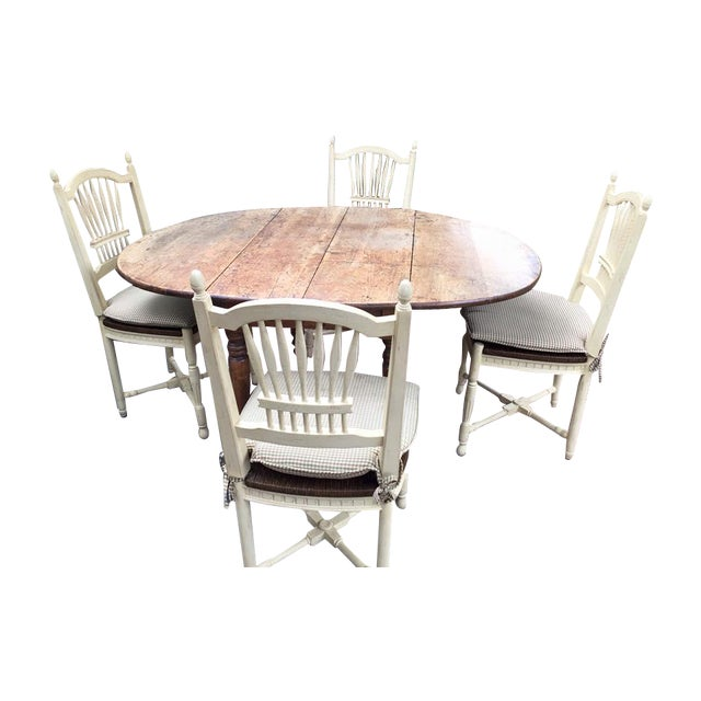 19th Century French Country Dining Set - Image 1 of 8