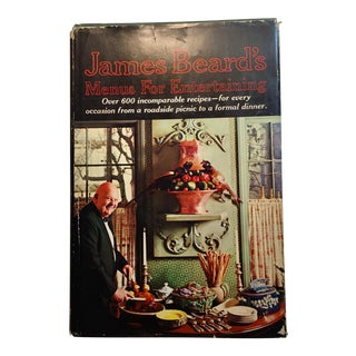"""James Beard's Menus for Entertaining"" 1965 Book"