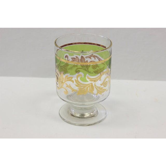 Vintage Greek Cordial Glasses Set Of 6 Chairish