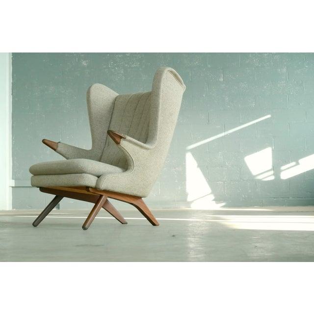 Sven Skipper 1960s Papa Bear Chair Model 91 in the Style of Hans Wegner - Image 11 of 11
