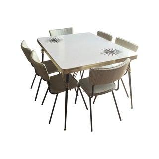 1960s Vintage Formica Dining Set