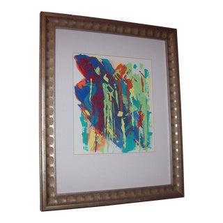 """Coloropolis"" Original Abstract Painting by Dawn Walling"