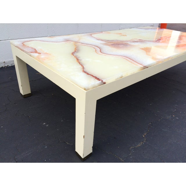 Onyx Parsons Coffee Table - Image 3 of 11
