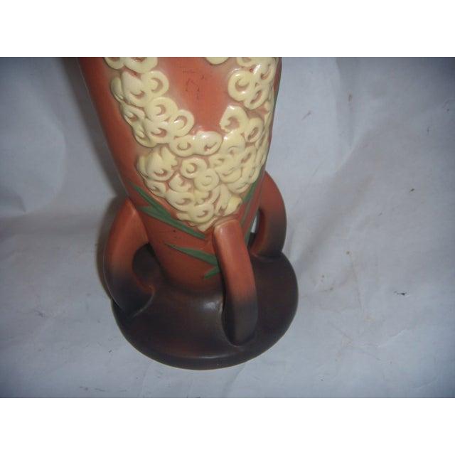 Vintage Roseville Foxglove Tall Vase - Image 9 of 11