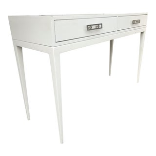 """""""Kelly"""" White Lacquered Console"""