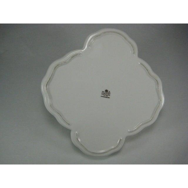 Image of Coalport Bone China Strawberry Basket