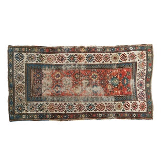 "Antique Caucasian Kazak Rug Runner - 3'5"" x 6'9"""
