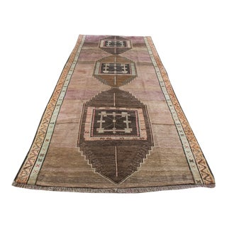 """Turkish Hand-Knotted Runner Rug - 5'7"""" x 13'9"""""""