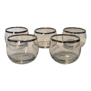Dorothy Thorpe Roly Poly Cocktail Glasses - Set of 5