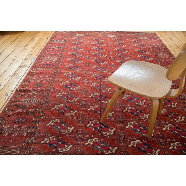 "Antique Tekke Bokhara Carpet - 6'11"" X 10' - Image 9 of 10"