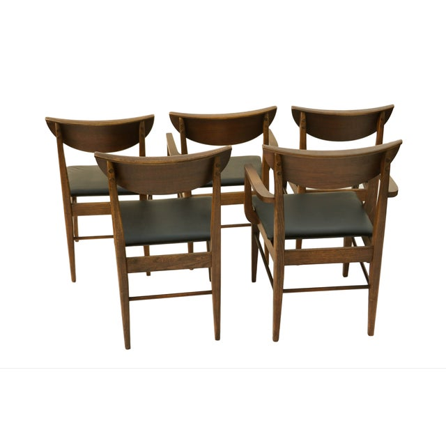 Mid Century Modern Bassett Dining Chairs - S/5 - Image 2 of 10