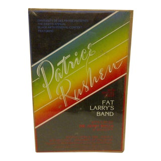 "1980 Vintage ""Patrice Rushem"" Concert Poster"