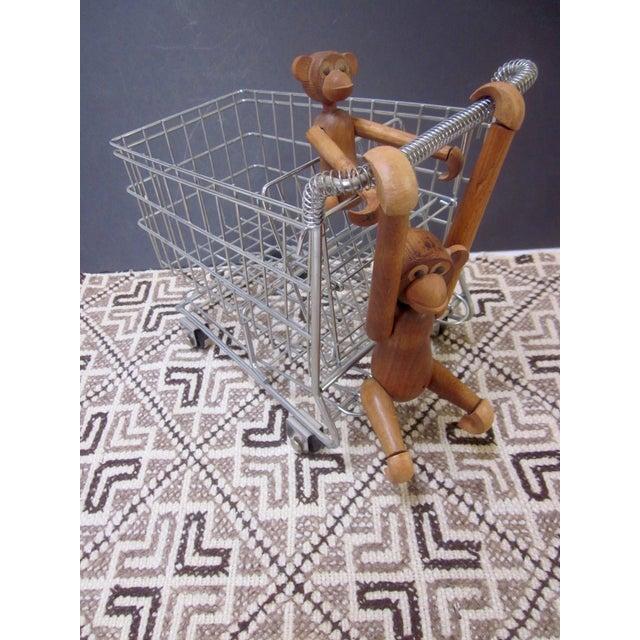 Vintage Pop Art Shopping Cart - Image 7 of 9