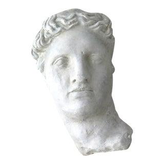 Concrete Greek Head