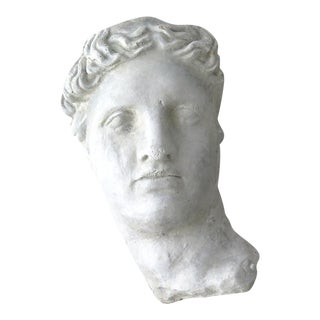 Concrete Greek Head