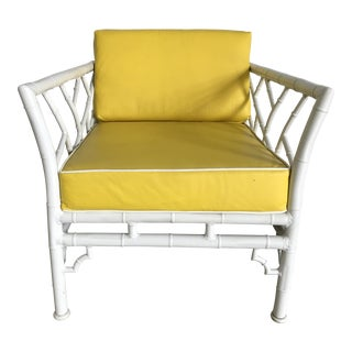 Meadowcraft Faux Bamboo Aluminum Chair