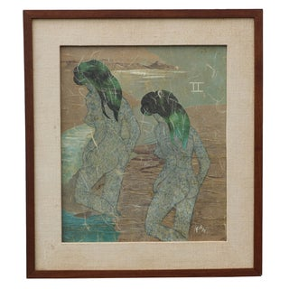Frances Ward Abstract Painting