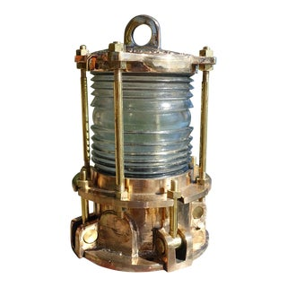 Nautical Bronze Piling Marine Dock Light