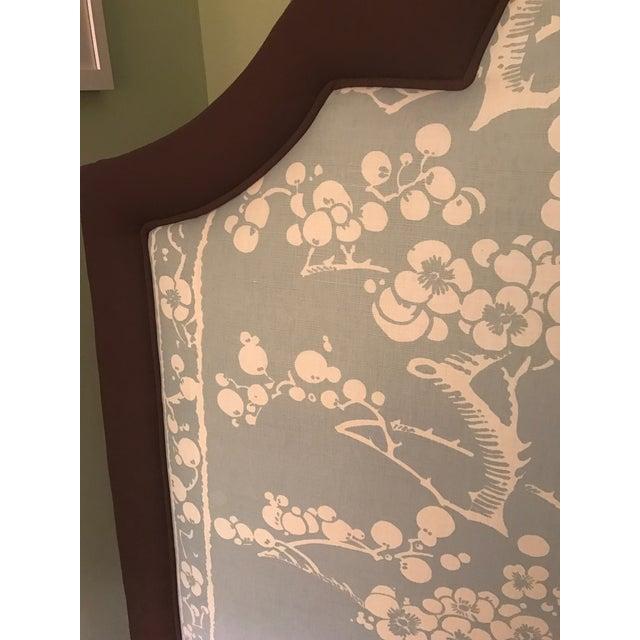 Custom Upholstered Queen Size Headboard - Image 2 of 3