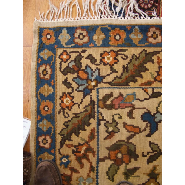 Bessarabian Room-Size Woven Kilim - Image 3 of 10