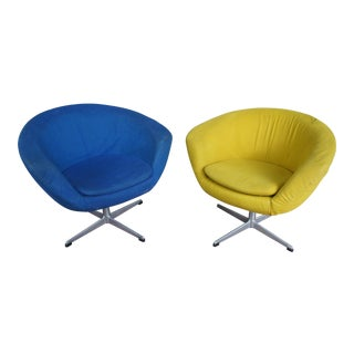 Overman Sweden Pod Chairs - A Pair