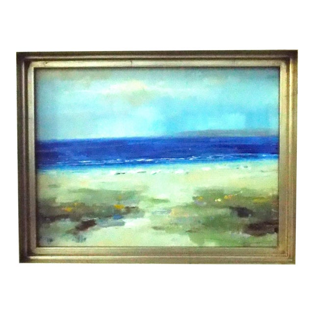 The Beach Oil Painting - Image 1 of 5