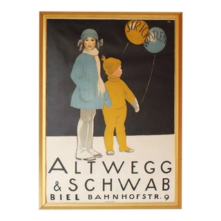 Swiss Lithographic Poster