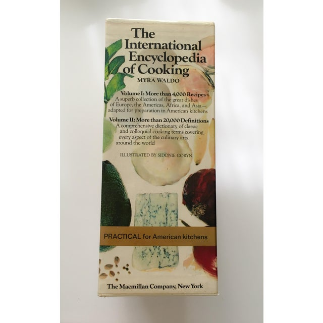 Image of The International Encyclopedia of Cooking