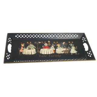 "Nashco ""Cafe Society"" Tray"