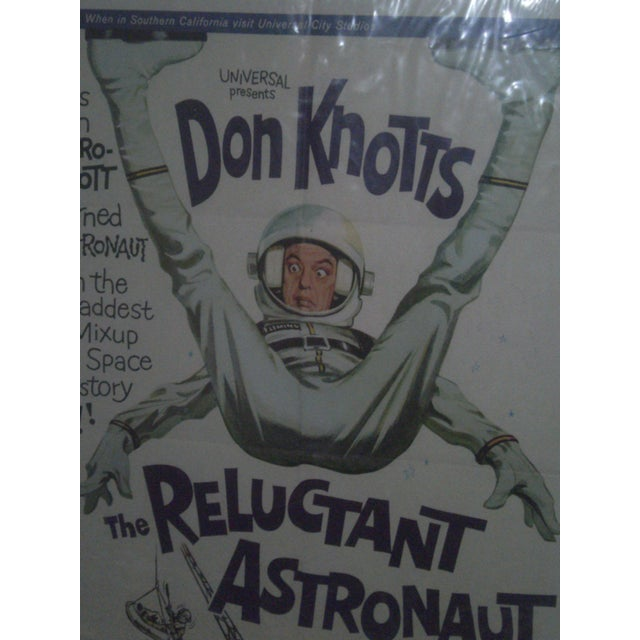 Movie Poster -Don Knotts The Reluctant Astronaut - Image 4 of 5