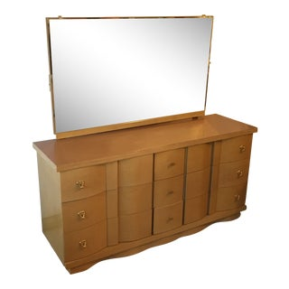 Basic Witz Dresser With Matching Mirror