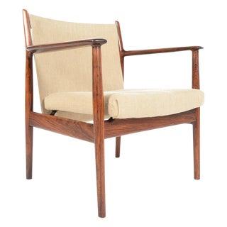 Arne Vodder Rosewood Armchair
