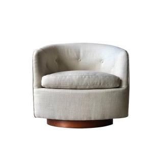 Swivel & Tilt Barrel Chair