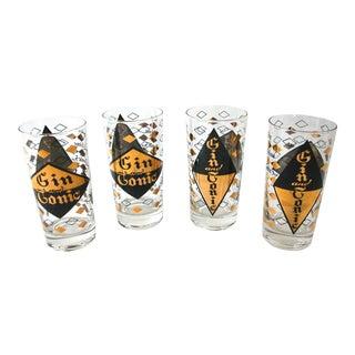 Gin & Tonic Glasses - Set of 4