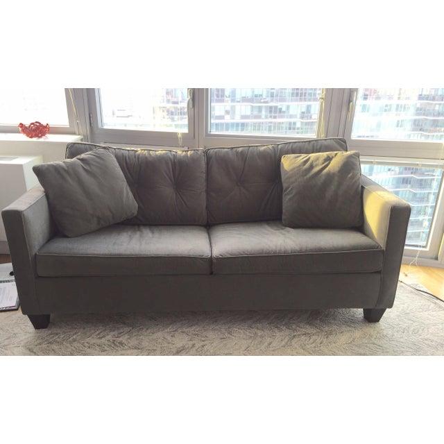 Dark Gray Sofa Sleeper - Image 2 of 3