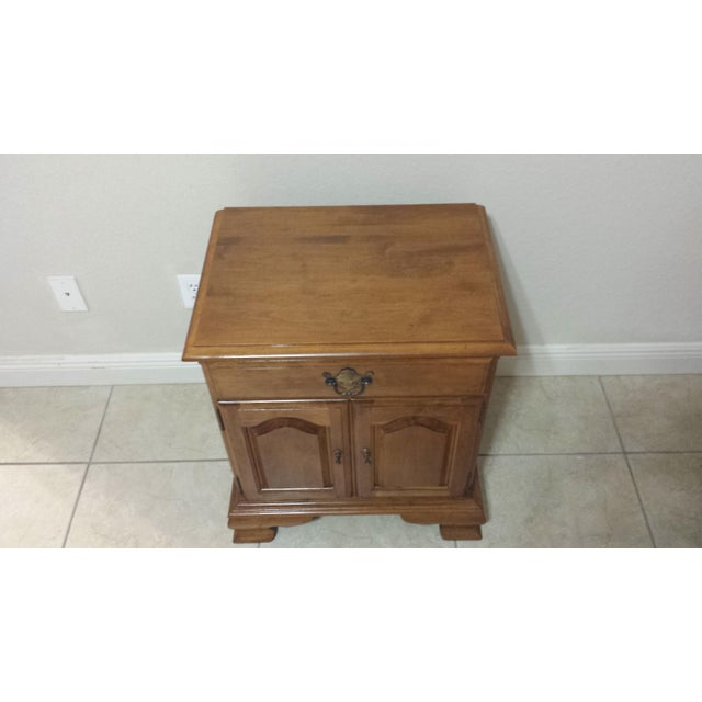 Ethan Allen Traditional Style Nightstand - Image 8 of 9