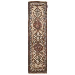 "Antique Persian Sarab Runner - 3'4""x 13'8"""