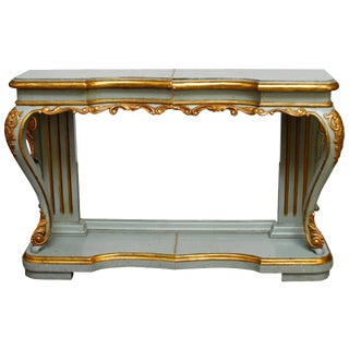 French Louis XV Style Console Table