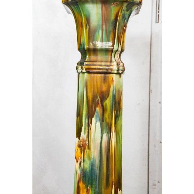 Earthenware Pedestal - Image 3 of 5