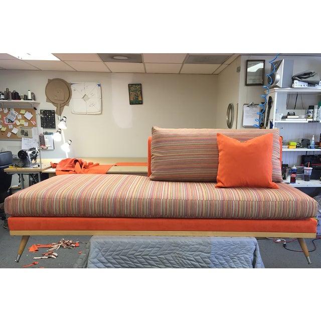 Custom Mid-Century Modern Sofa Lounge - Image 2 of 10